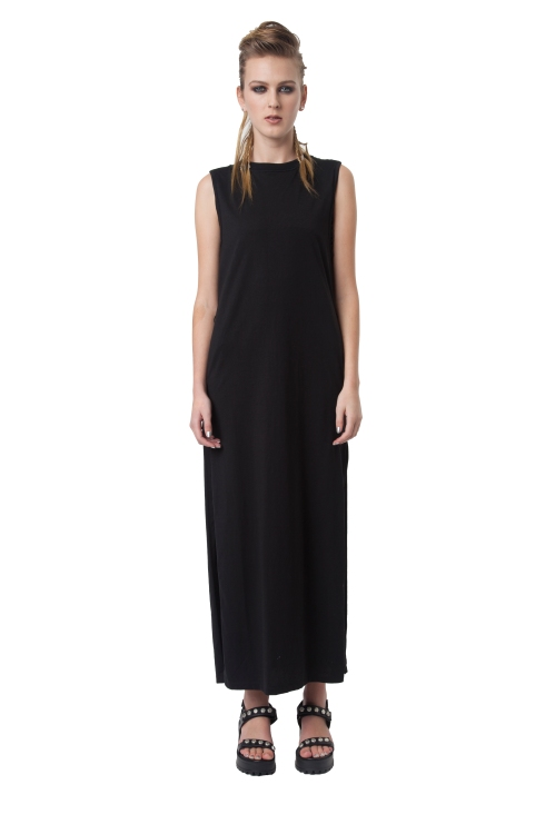 5.R13 RAM RAID DRESS - BLACK -RRP$240